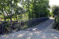 NB Brücke und Radweg in Ilmenau