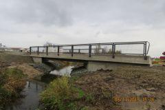 Wirtschaftswegbrücke über die Bibra bei Queienfeld